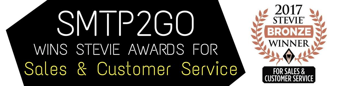 smtp2go wins stevie awards