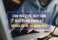 Can Receive but Not send email, resolved